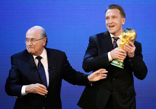 России чемпионат мира по футболу 2018