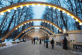 Парки стали излюбленным местом для прогулок москвичей