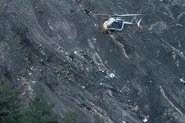 Поисково-спасательная операция на месте катастрофы