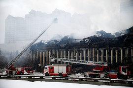Пожар в библиотеке ИНИОНа на юго-западе Москвы начался вечером 30 января, потушили его только 2 февраля