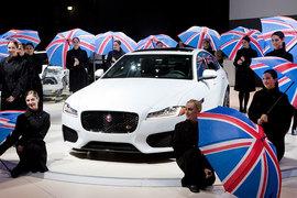 Британская Jaguar Land Rover впервые на публике показывает второе поколение седана Jaguar XF