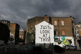 Еще 15 лет назад Шордич был известен лишь своими граффити на обветшалых домах