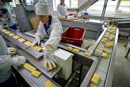 Пищевая промышленность выросла благодаря эмбарго