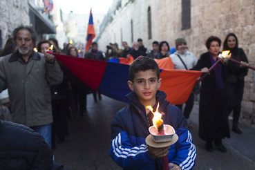 Памятное шествие в Иерусалиме