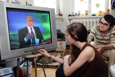 Главным источником информации о ситуации на Украине  остается телевизор