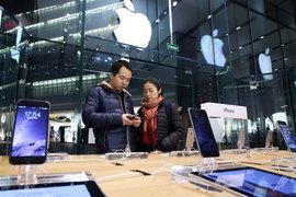 Глобальные продажи смартфонов Apple выросли на 40% в январе – марте 2015 года