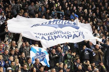 В сезоне 2014/15 «Адмирал» не сумел выйти в плей-офф