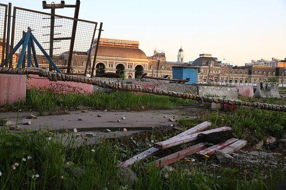 на Павелецкой площади