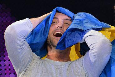 Победитель «Евровидение-2015» шведский певец Монс Селмерлёв был фаворитом конкурса