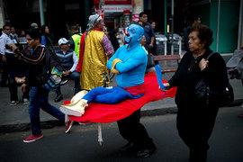 День клоуна в Перу