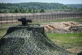 В сентябре 2014 г. правительство Украины объявило о начале реализации проекта «Стена» («Европейский вал»)