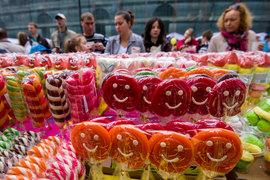 Фестиваль мороженого на площади Островского, 24 мая