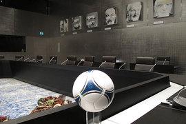 В этом кабинете члены исполкома FIFA выбирают страны, где будут проходить чемпионаты мира