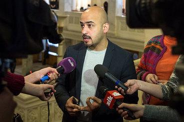 Журналист и депутат Верховной рады Мустафа Найем