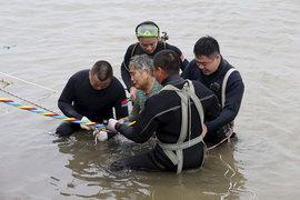 Кораблекрушение на реке Янцзы