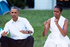 Барк и Мишель Обама