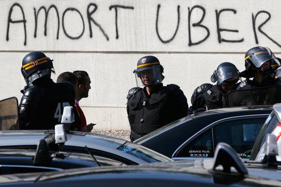 В Петербург пришло американское Uber-такси - Бизнес