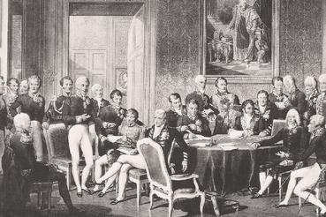 Достижение нового урегулирования в Европе потребует столь же ответственной дипломатии, чтопривела к Венскому конгрессу 1815 г.