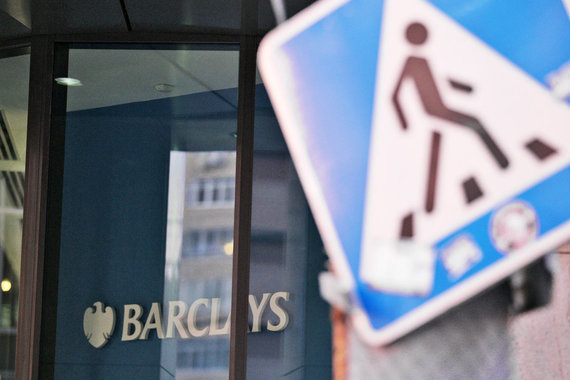 В первом полугодии Deutsche Bank, Credit Suisse, Barclays (на фото) и UBS заработали меньший доход в инвестбанкинге, чем три года назад