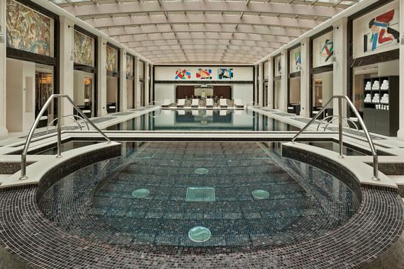 Amnis Spa  в отеле Four Seasons - самый большой спа-центр в Москве