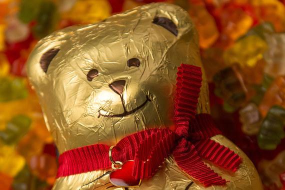 Lindt отстояла перед Haribo право на производство шоколадных медведей