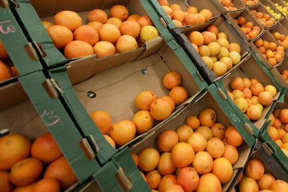 Цитрусовые, виноград и другие фрукты (в том числе мандарины) – $799,6 млн