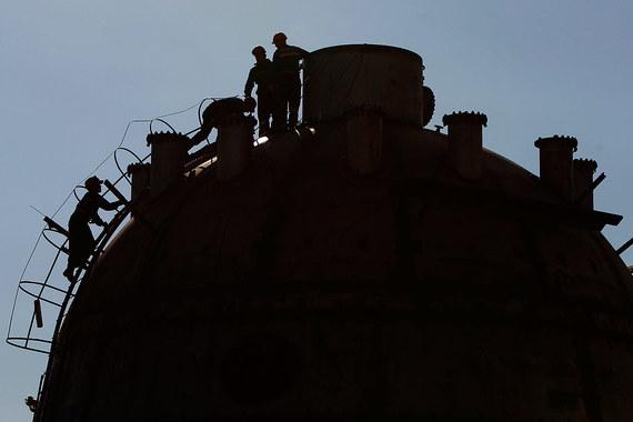 Нефть Brent упала ниже USD 37
