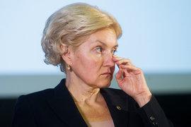 Вице-премьер Ольга Голодец «потеряла» пенсии