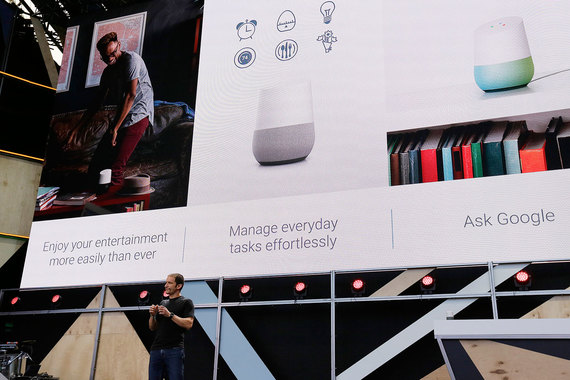 Многие технологии представленные на Google I  O пока находятся на стадии проектирования и их воплощение в реальные продукты может занять годы