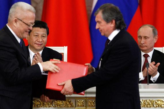 Китайская компания желает участвовать вуправлении «Роснефти»