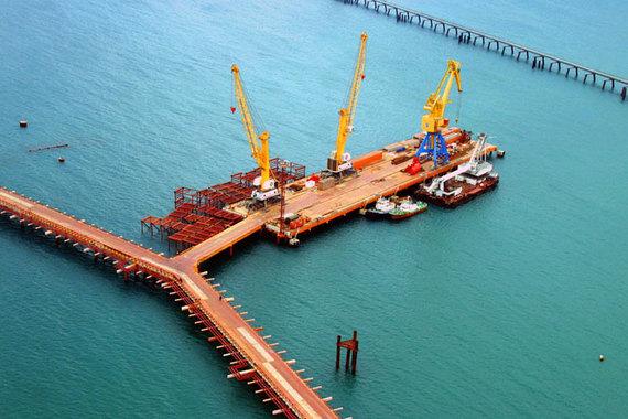развития порта Тамань