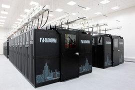 Суперкомпьютер «Ломоносов», построенный «Т-платформами», 58-й по производительности в мире