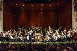 Музыку Десятникова в Пермском театре сыграл Фестивальный оркестр под управлением Теодора Курентзиса