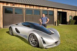 Суперкар Blade с напечатанным на 3D-принтере каркасом кузова и его создатель Кевин Цингер