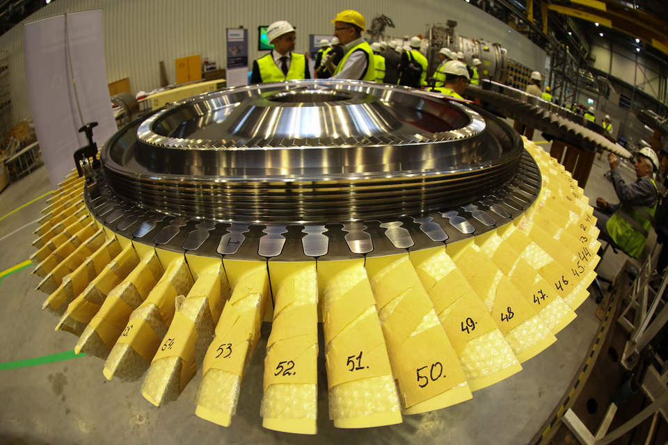 Турбины Siemens законтрактованы для станции в Тамани, но окажутся в Крыму