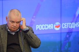 В Великобритании арестовали счет МИА «Россия сегодня» в банке Barclays (на фото Дмитрий Киселев)