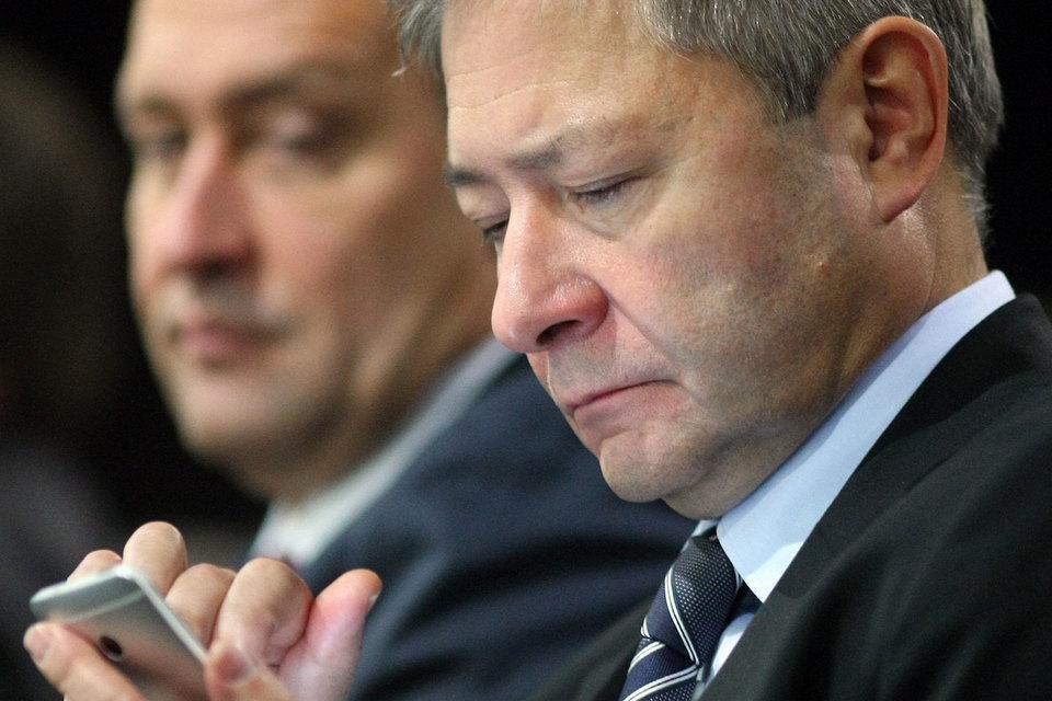 Компания Леонида Реймана (на первом плане) будет разрабатывать не только чипы, но и операционную систему
