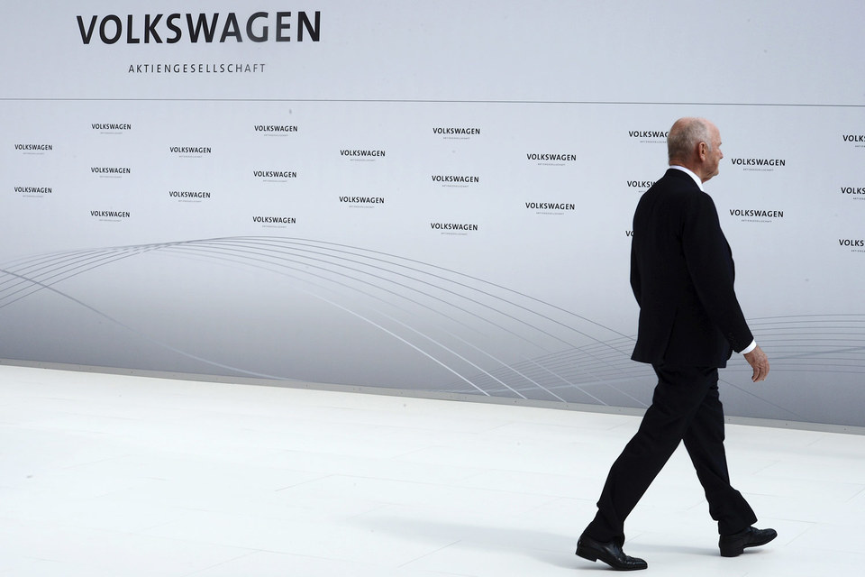 «Дизельный скандал» может стоить гендиректору Volkswagen Мартину Винтеркорну кресла