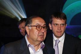 Алишер Усманов и Иван Таврин