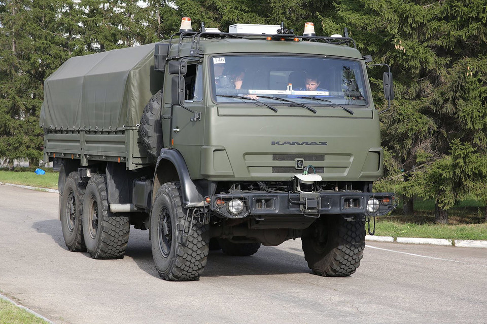 Беспилотный «Камаз» и другие чудеса российской техники получат до 10 млрд рублей