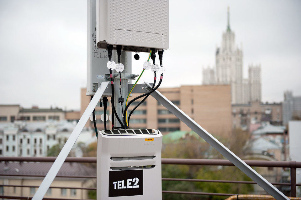 Антенна Tele2 в Москве