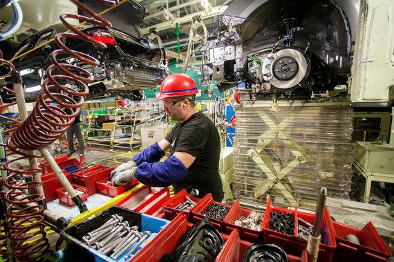 Завод как и в прошлом году загружен на 75% до конца года будет выпущено около 35 000 машин
