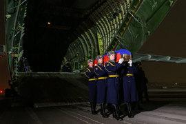 Тело подполковника Олега Пешкова доставлено в Россию