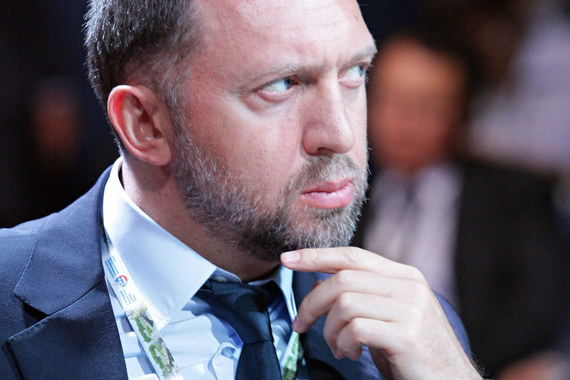 Президент UC Rusal Олег Дерипаска