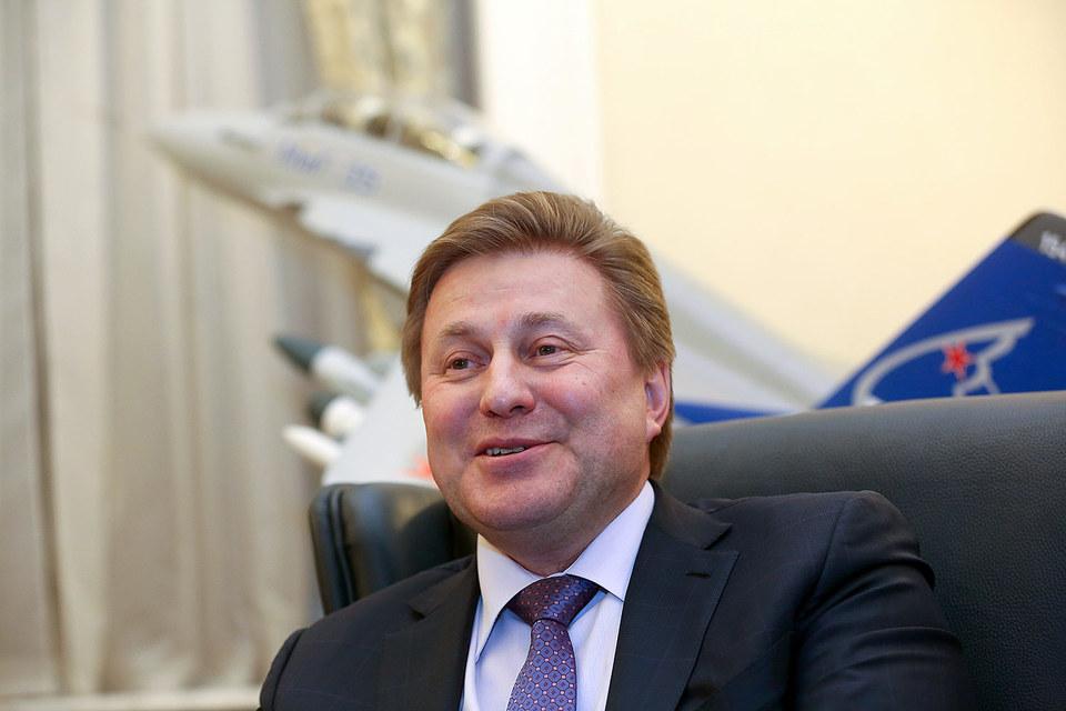 Генеральный директор РСК «МиГ» Сергей Коротков