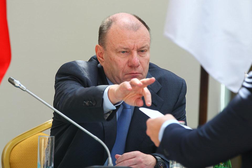 Президент «Норникеля» Владимир Потанин