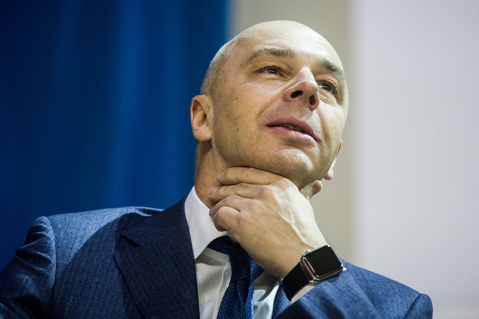 Новый мегарегулятор по доходам (на фото министр финансов Антон Силуанов) написал себе доходную карту