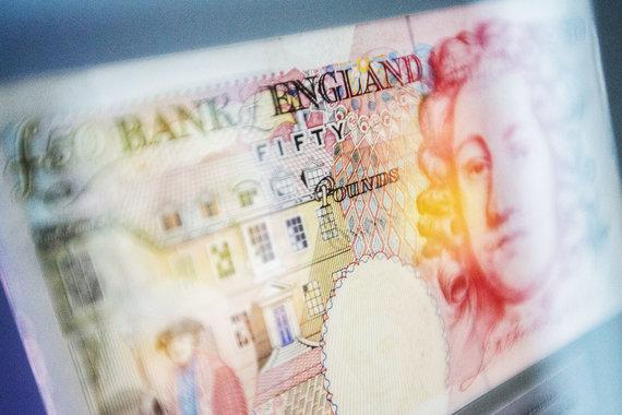 Британский фунт дешевеет в ожидании июньского референдума