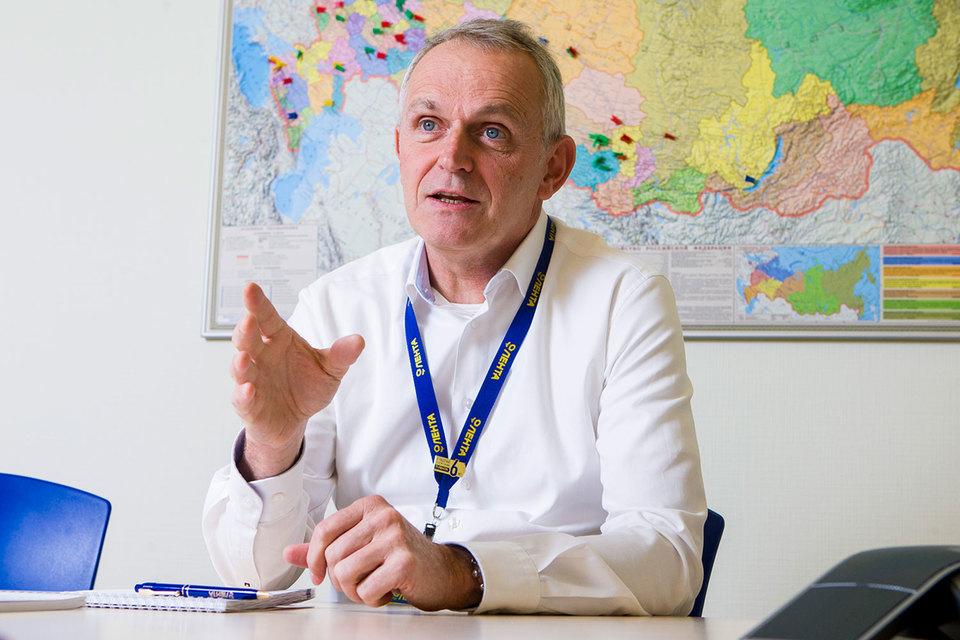 Генеральный директор «Ленты» Ян Дюннинг