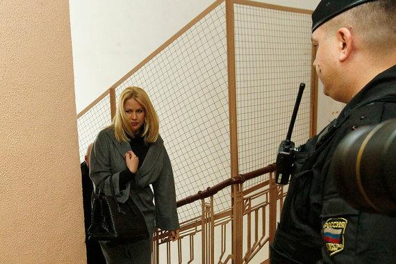 Евгения Васильева так долго сидела под домашним арестом, что была выпущена вскоре после приговора